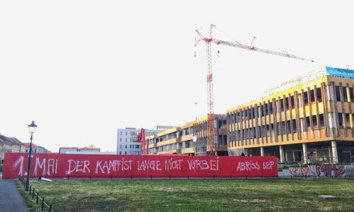 Die FHS in Potsdam – Chronik eines Abrisses – 1. Mai 2018