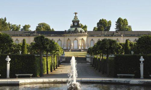 Die Bildergalerie im Park von Sanssouci