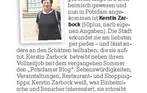 """Bloggerin in """"Gesichter der Stadt"""" vorgestellt"""