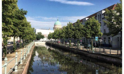 """Der Potsdamer Kanal war """"voll"""""""