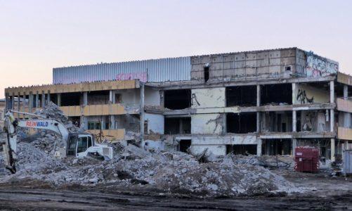 Abgerissen – die alte Fachhochschule