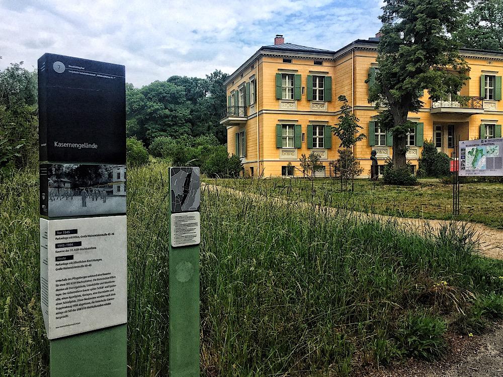 "Geschichtspfad ""Sowjetische Geheimdienststadt 'Militärstädtchen Nr. 7′"""