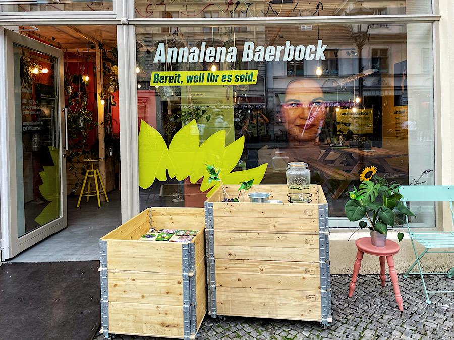 Lokal.grün – das begehbare Wahlprogramm der Grünen in Potsdam